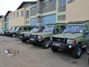 4x4 luxury safari Landcruiser